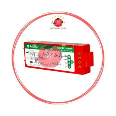 bateria desfibrilador heart guardian