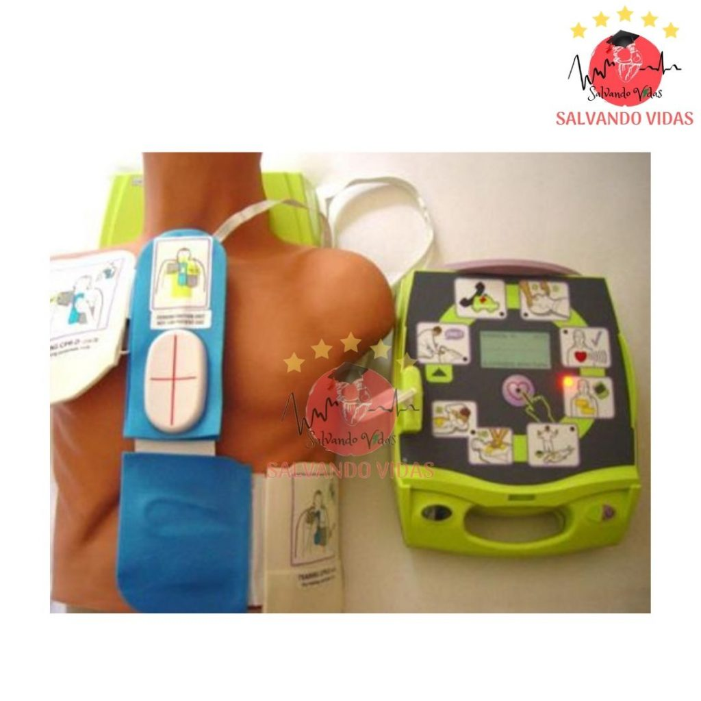 electrodos AED plus ZOLL